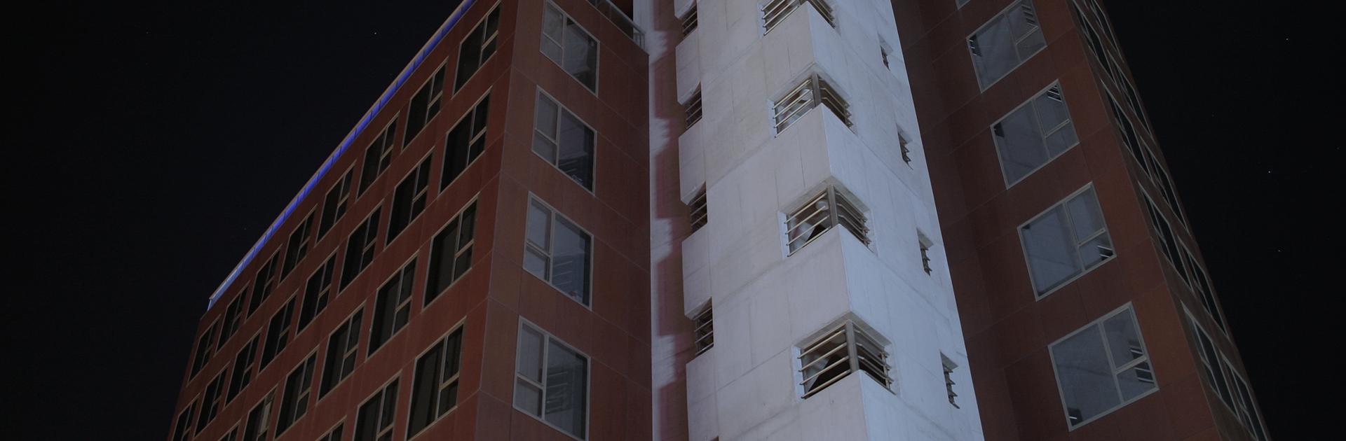 Edificio con oficinas para alquilar