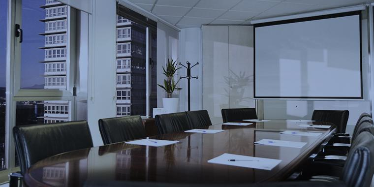 Salas de reuniones y formación por horas